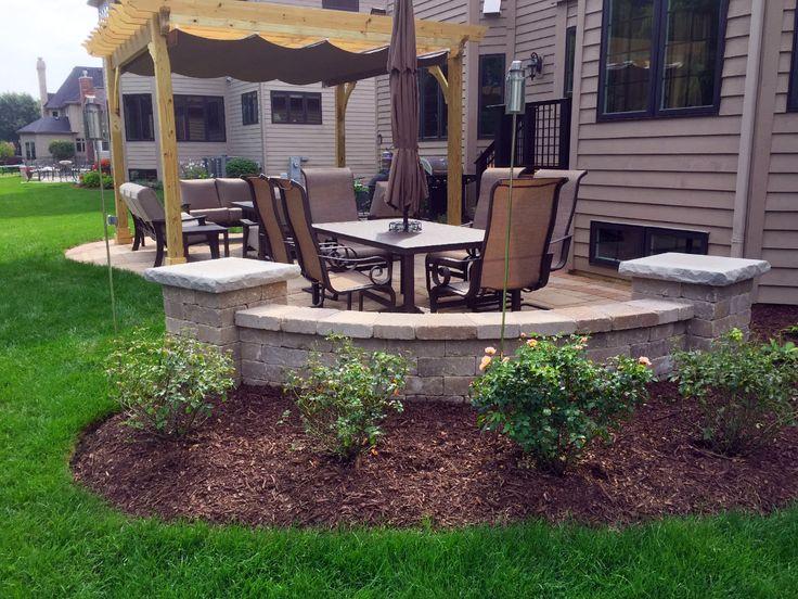 Patio Design With Pergola By Naperville, IL Patio Builder