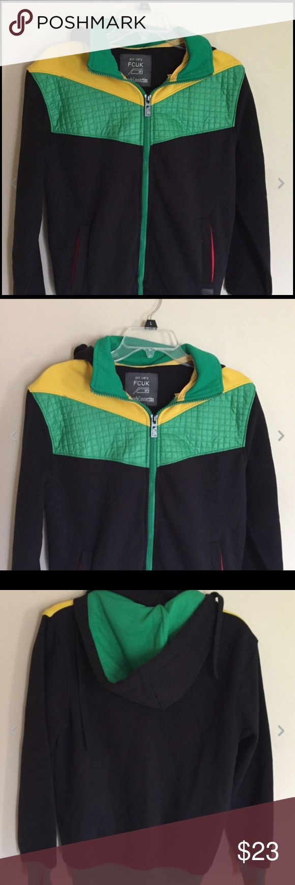Mens French Connection Athletic Jacket M Very good condition. Measures about 20 inches across the chest, 26 inches in length and a 24 inch sleeve French Connection Jackets & Coats