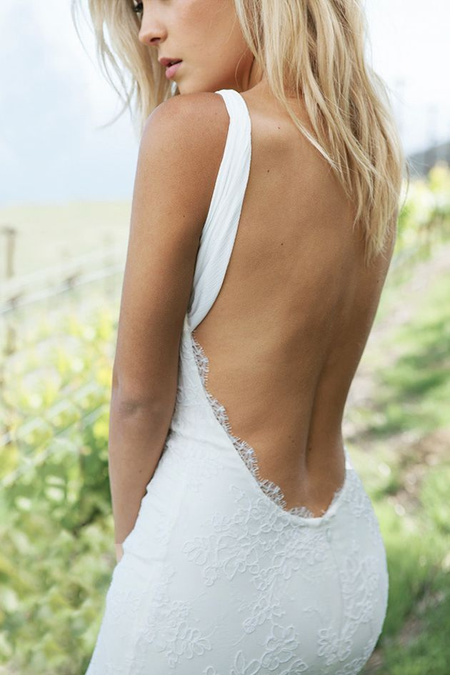 Katie May 2014 Sexy Open Back Wedding Dress
