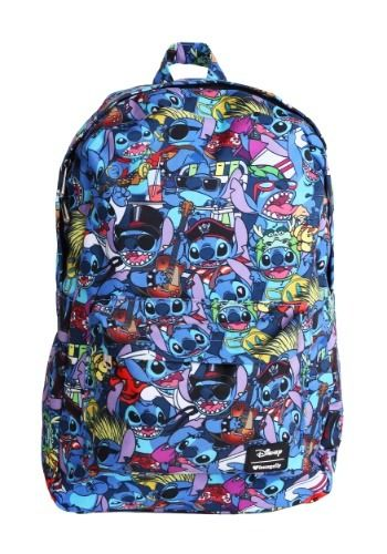 02045afbb7f Lilo   Stitch All Over Loungefly Print Backpack