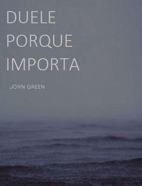 Considerar que cuando algo duele es porque nos importa, como propone con esta frase John Green, es poder enfocarse en lo solucionable, encontrar oportunidades y trabajar sobre lo posible. El padece…