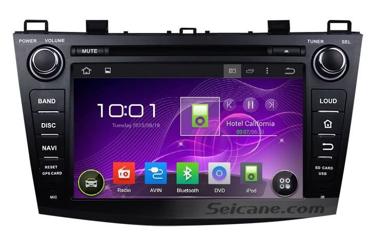 8 inch Android 4.4.4 Autoradio Stereo GPS navigation system for 2009-2012 MAZDA 3