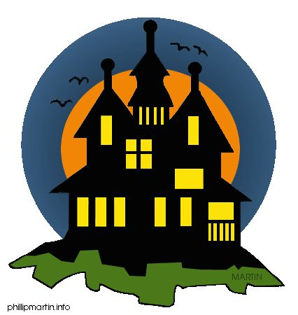 13 best images about halloween house on pinterest - Cartoon haunted house pics ...