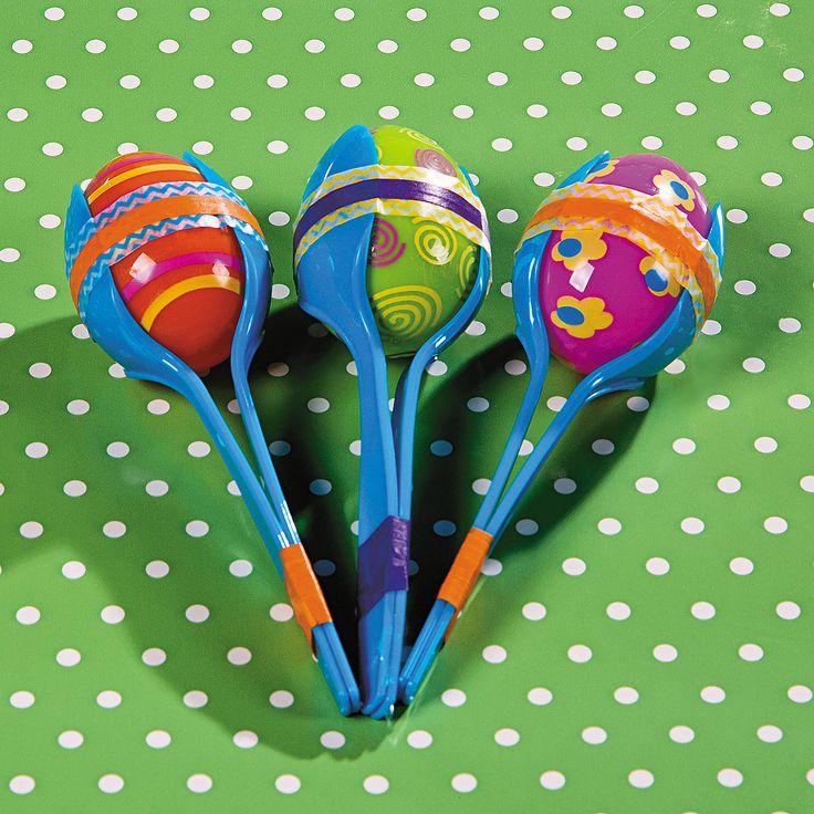 Plastic Egg Maracas Idea - OrientalTrading.com