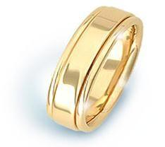 Argolla Oro Amarillo 54