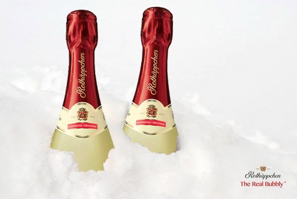 When life gives you snow, freeze some bubbly! #SavourTheBubbly #SparklingWine #TheRealBubbly