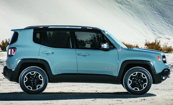 Jeep Renegade 2015  Mine would be black, though. www.thompsonschryslerdodgejeepram.com