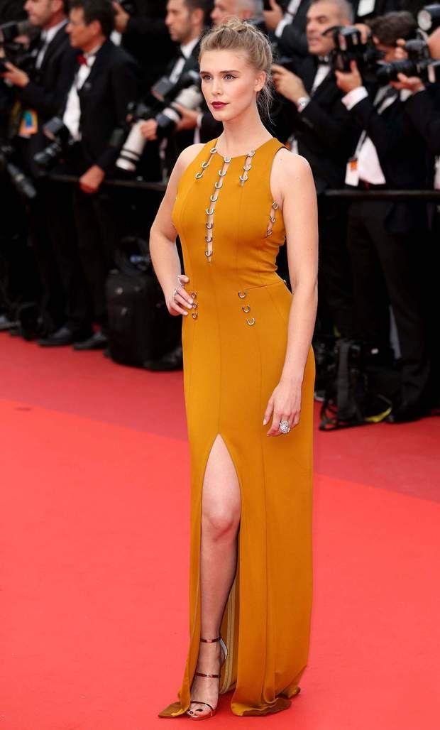 L'actrice et mannequin Gaia Weiss