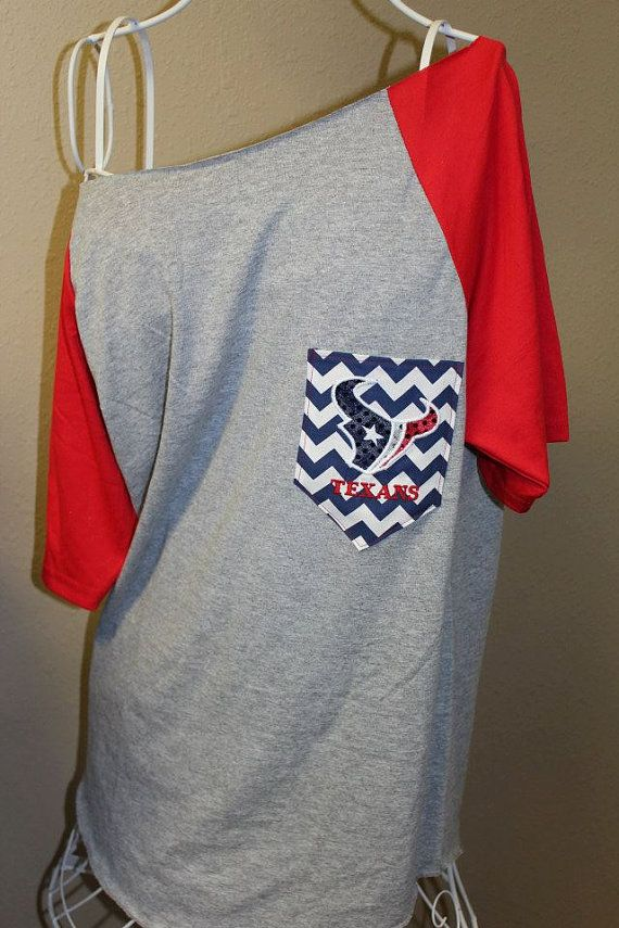 Hey, I found this really awesome Etsy listing at http://www.etsy.com/listing/159959954/houston-texans-pocket-off-the-shoulder