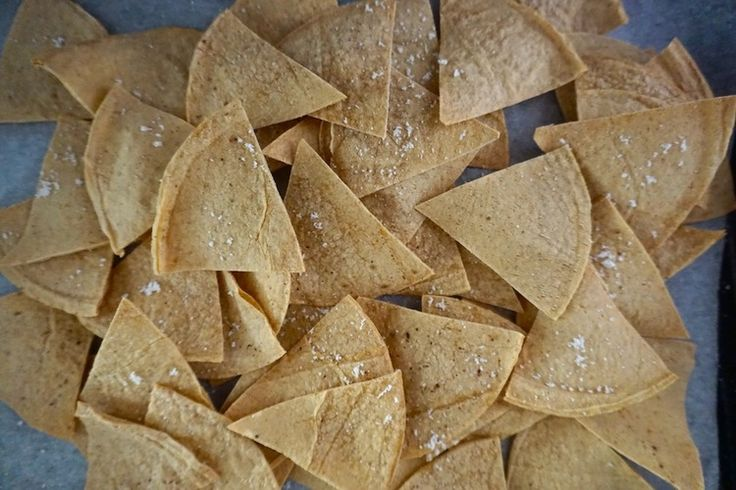 These oil free tortilla chips are the amazing healthy alternative for the guacamole and corn chip addict.