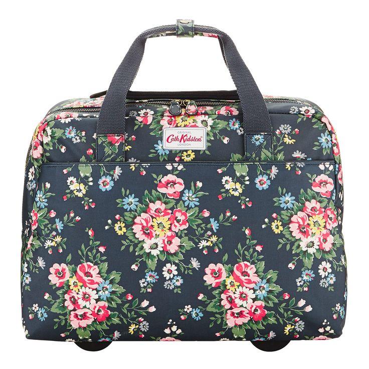 ♥ cath kidston, folk flowers wheeled business bag.