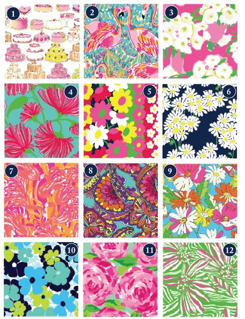 Lilly Pulitzer. spring 2011 patterns