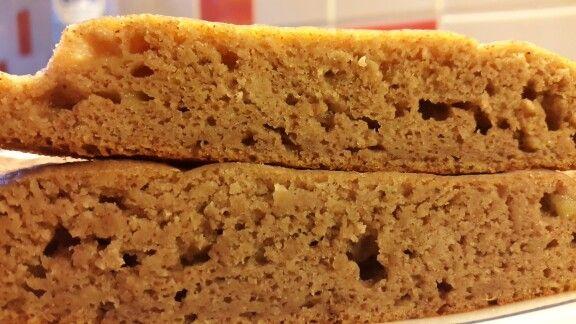 Banana bread Facile, cuit à la vapeur (une première pour moi de cuire un gâteau à la vapeur lol youhou!) Verdict: très moelleux, léger...on goute un peu fort la banane (si on est pas fan de bananes)