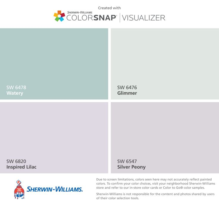 I found these colors with ColorSnap  Visualizer for iPhone by  Sherwin Williams  Watery. 21 best Basement Ravens Purple images on Pinterest   Girls bedroom