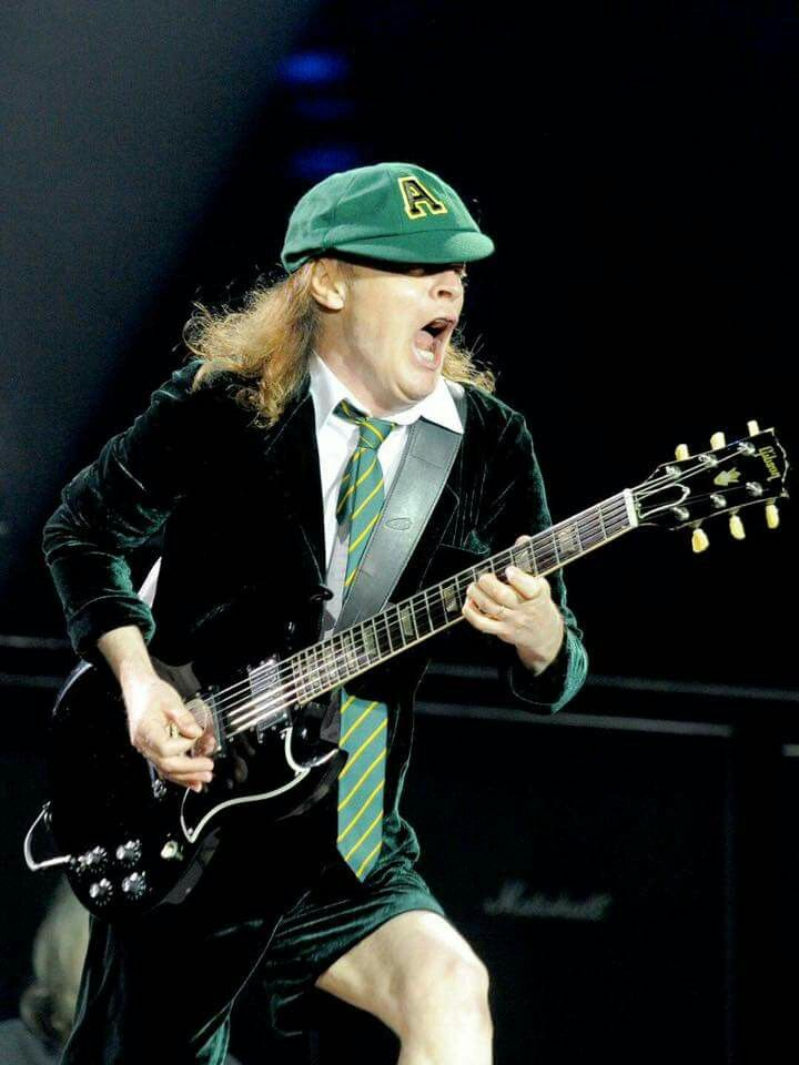 Angus Young - Never a fan of AC/DC, I do give these guys a lot of credit. They had showmanship, stage presence, mastered their instruments, played well, played hard, and compared to many bands in this day and age who can't play, write, or sing for shit these guys rocked it so I adding them to my board.