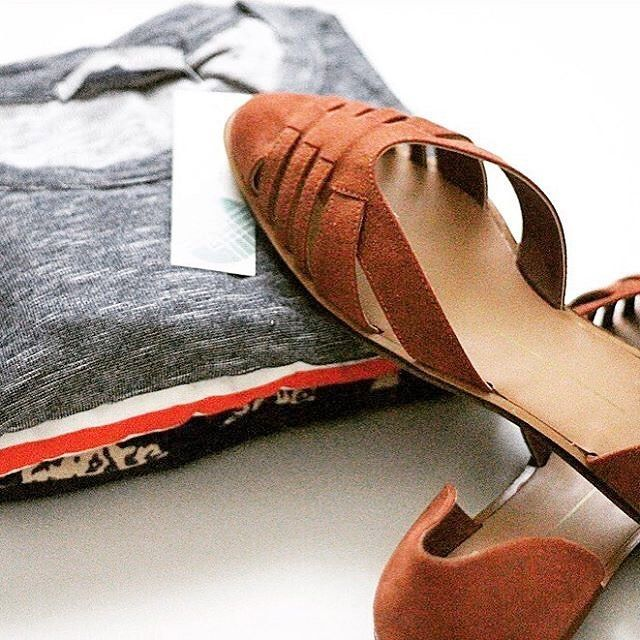 Our #FixObsession? @Joannealma's new flats. #regram