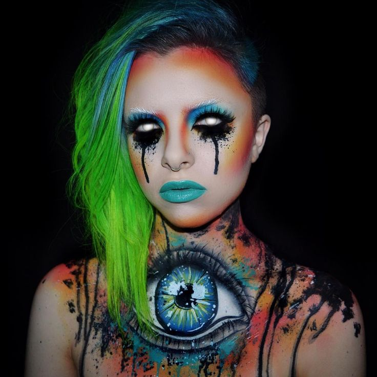 62 best @ DARK KimberleyMargarita Makeup (Colour Creep) images on ...