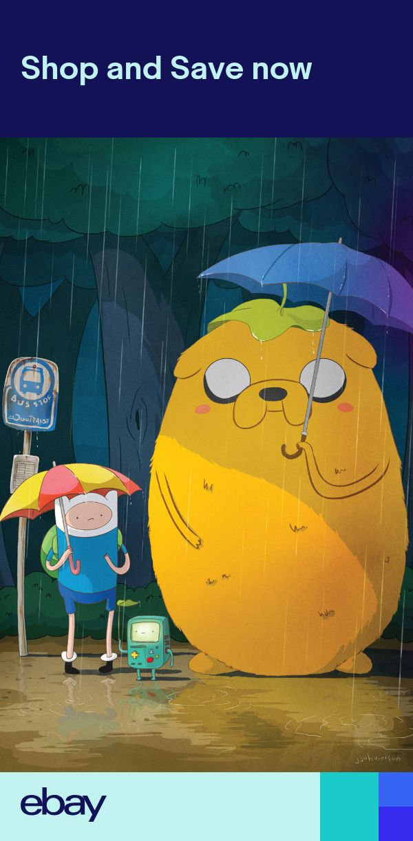 Adventure Time - With Finn & Jake TV Series Fabric poster ...