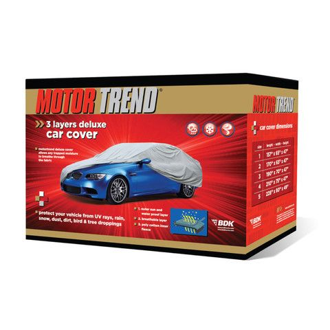 Motor Trend All Season Uv Waterproof Car Cover