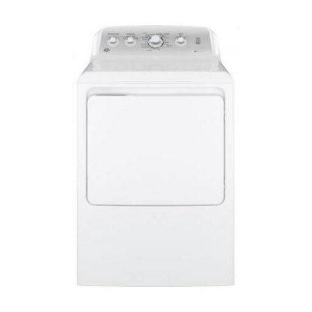 GE GTD45EASJWS 27 inch Front Load Electric Dryer with 7.2 cu. ft. Capacity 4 Dry Cycles and Heat Selections HE