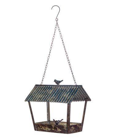 Hanging Metal Bird Feeder #zulily #zulilyfinds