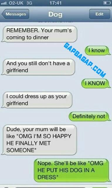 Hilarious Text Message About Girlfriend ft. Funny ...