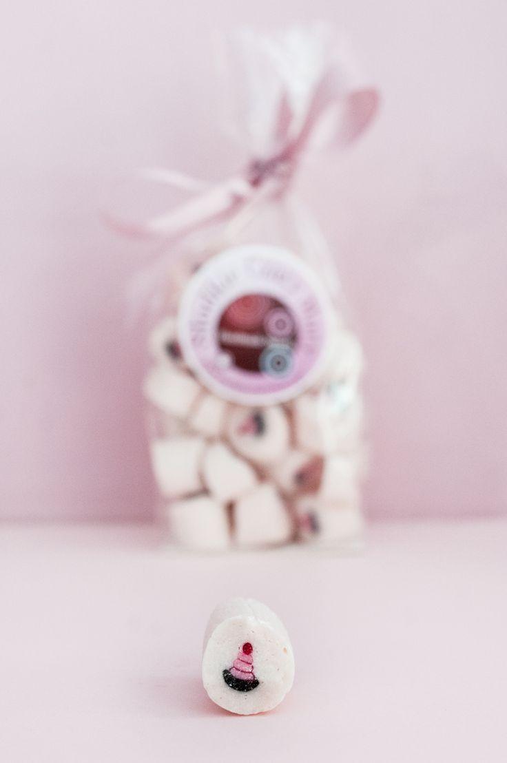 kolorowe cukierki z naturalnych składników
