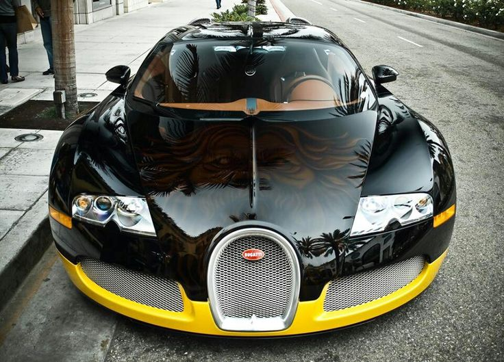 Merveilleux Iranian Designer, Bijan, Prefers The Bumblebee Look For His Bugatti Veyron  News @ Top Speed