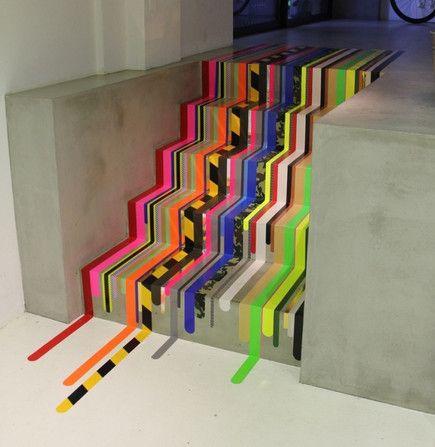 Эффектный декор лестниц  своими руками.11 супер идей! / ...