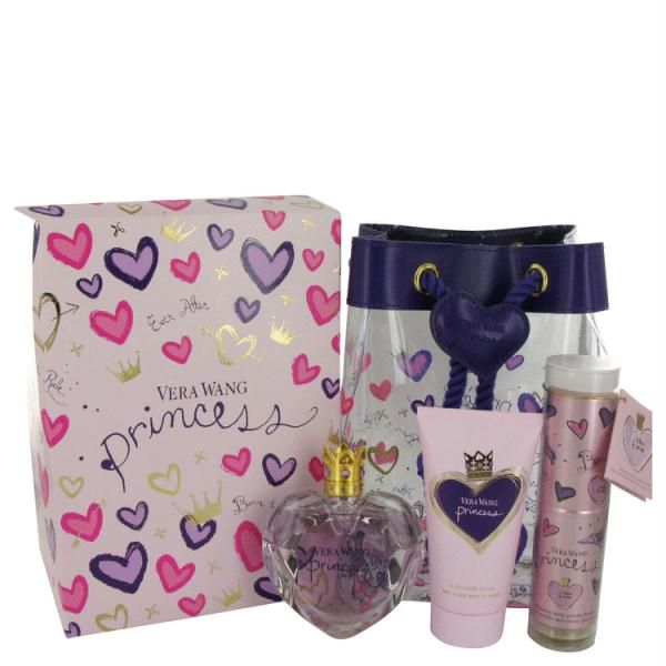 Gift Set -- 1.7 oz Eau De Toilette Spray + 2.5 oz Body Lotion + .25 oz Shimmery Body Powder Brush      Model: FX466283     Shipping Weight: 1lbs     Units in Stock: 500     Manufactured by: Vera Wang $49.99