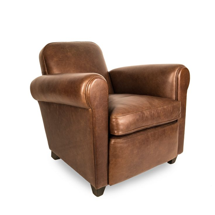 Reintroducing the classic club chair for modern homes, the Barrington gives the exclusive feel of a members club at a fantastic price. Taking its shape from an original French club chair, the relaxed lines and soft leather upholstery of this contemporary design make it a suave addition to any space.