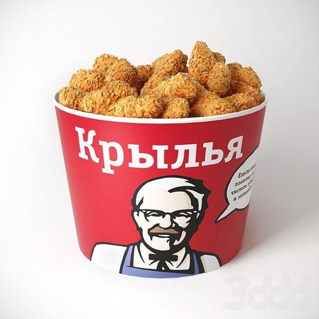 KFC (Kentucky Fried Chicken / Кентакки Фрайд Чикен, жареный цыпленок из Кентукки) – вторая самая большая в мире сеть ресторанов быстрого питания, после Макдональдс. Характерной особенн