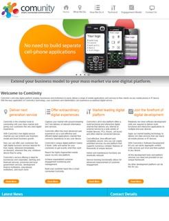ComUnity Strategic home page