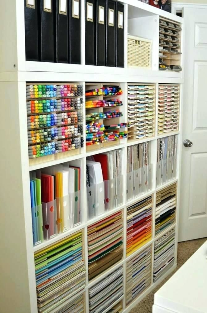 Kids Art Supplies Storage Photo 1 Of