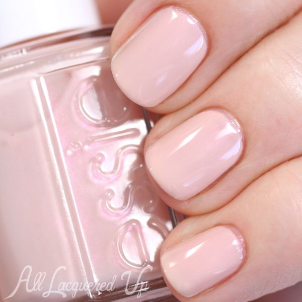 Essie: Time for Me Time ... is a milky pink creme nail polish that is slightly greyed with a hint of pearl