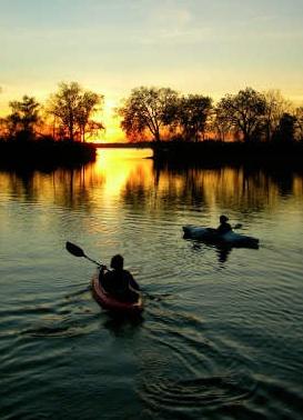 Sun - Sol - caiaque - kaiak - rio - river - exercícios