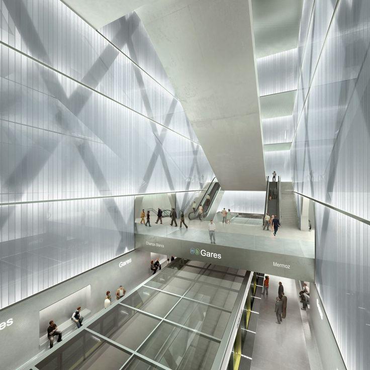 Rennes Metro Station / Atelier Zündel & Cristea