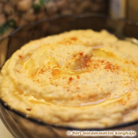 Nóri mindenmentes konyhája: Hummusz