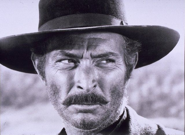 Lee Van Cleef. Spaghetti-western's most famous villain actor!