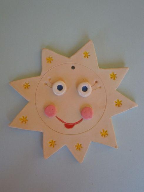 Sluníčko - keramika Co kus, to originál.