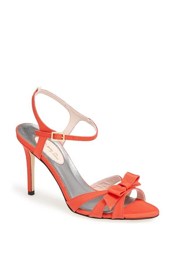 """""""The Silvia in coral is perfect for the Beverly Hills Hotel. Silvia is an old-fashioned name, quite nostalgic, just like the setting of the BBH coffee shop."""" #SWEEPSENTRY"""