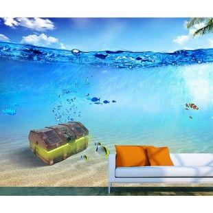 Su Sandık Özel Üretim Duvar Kağıdı