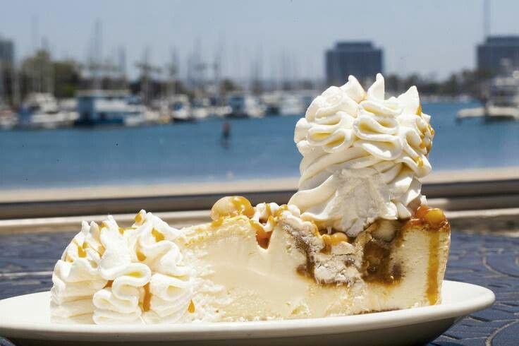 White chocolate caramel macadamia nut cheesecake- cheesecake factory.