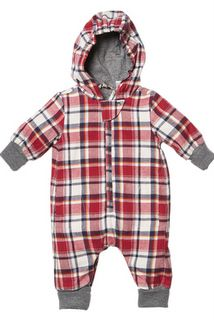 Vancouver hooded checked romper http://www.nestling.com.au/sale---winter-clothing-c115/girls-c54/fox--finch-vancouver-hooded-checked-romper-p1154/