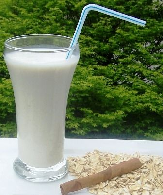 "Avena (Colombia). 'Avena is the Spanish word for ""oatmeal"". In Nicaragua, Colombia, and some other Latin American countries, the word is used to refer to a drink prepared using oatmeal.  To prepare, water or milk is brought to a boil. Sugar and a small amount of oatmeal is added and cooked. If water is used, some amount of milk may optionally be added at the end of cooking. Cinnamon is sometimes used as well.' http://www.lonelyplanet.com/colombia"