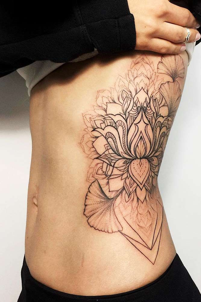 53 Best Lotus Flower Tattoo Ideas To Express Yourself Flower Tattoo Tattoos Side Body Tattoos