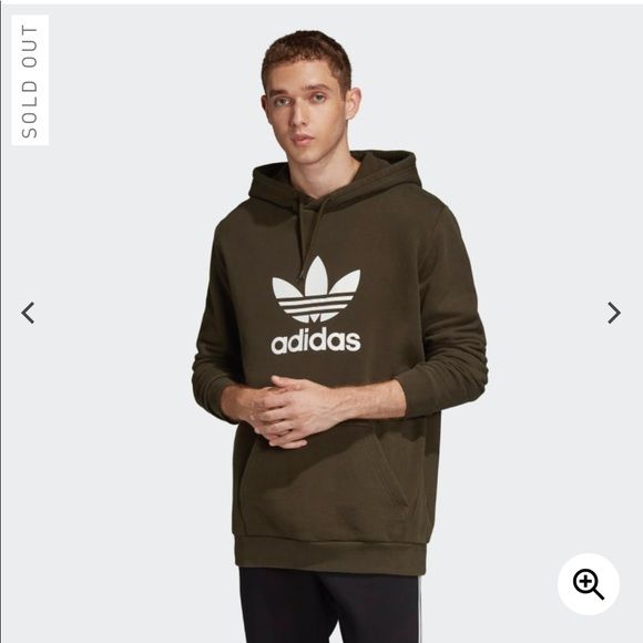 adidas Originals Herren Hoodies Cozy grün S: