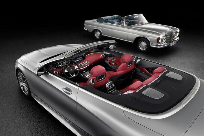 Mercedes S-Klasse Cabrio new & old