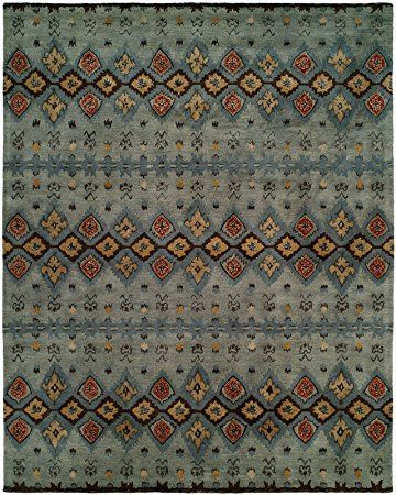 Kalaty Heirloom HL-424 Hand Tufted Area Rug, 9-Feet by 12-Feet, Multi