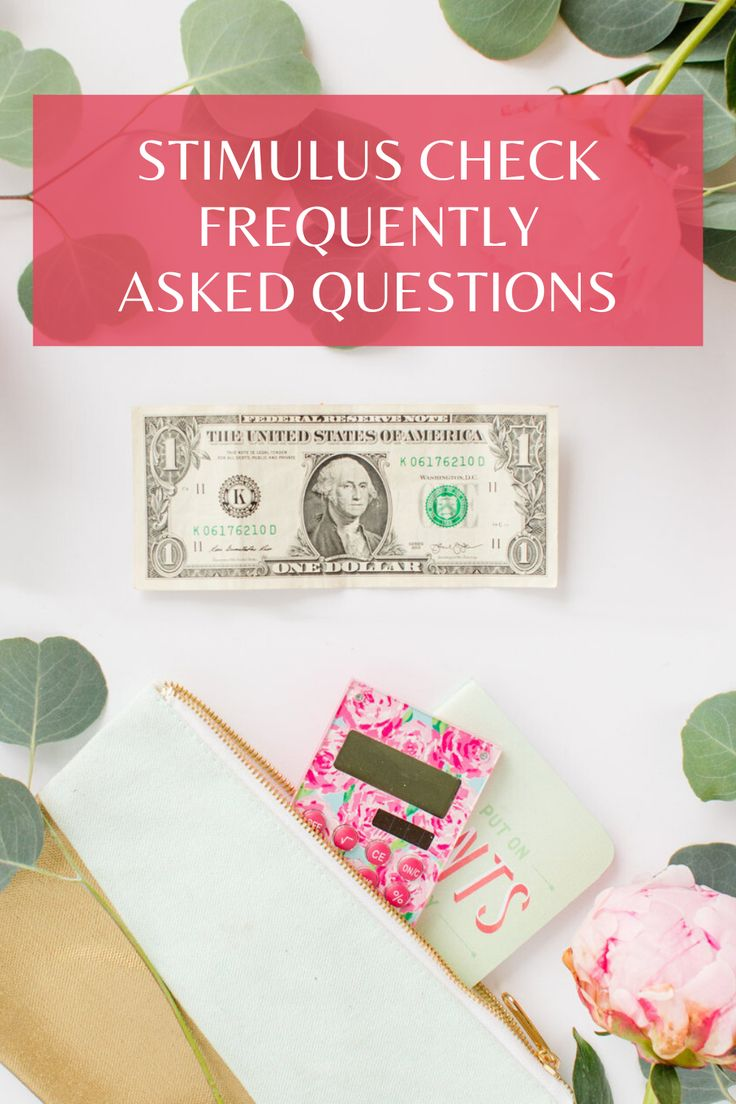 Stimulus Check Frequently Asked Questions Amy Northard